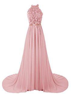 Halter Long Prom Dresses, Sheath with Train #prom #promdress #dress #eveningdress #evening #fashion #love #shopping #art #dress #women #mermaid #SEXY #SexyGirl #PromDresses