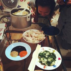 Hainan Chicken Rice and the story of shrinking vegetables.