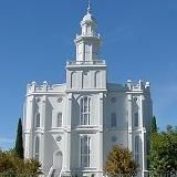 This is exactly how I remember it, brighter than any white, any bright you've ever seen. Utah Temples, Lds Temples, St George Temple, Mormon History, Mormon Temples, Latter Day Saints, Live In The Now, Notre Dame, Places To Travel