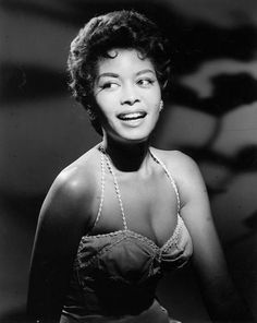 Chicago born jazz singer, actor and activist Abbey Lincoln