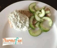 Recipe Salmon Steaks with Cucumber and Spiced Yoghurt - ThermoFun by leonie, learn to make this recipe easily in your kitchen machine and discover other Thermomix recipes in Main dishes - fish. Carrot And Coriander, Fresh Coriander, Recipe Community, Steaks, Salmon Recipes, Main Meals, Cucumber, Main Dishes, Seafood