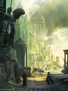 The Cathedral, north side. by Stephan Martiniere