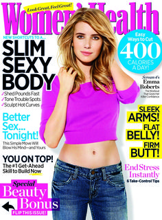 Women's Health. Emma Roberts
