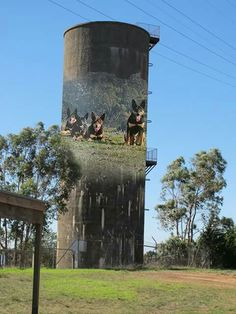 Water Tower in Casterton Victoria