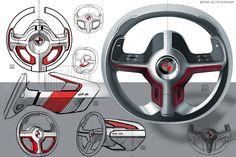 """Auf @Behance habe ich dieses Projekt gefunden: """"BMW i2 Interior"""" https://www.behance.net/gallery/40524711/BMW-i2-Interior"""