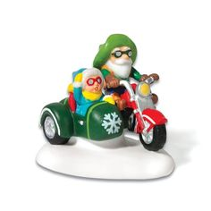 Department 56 North Pole Motorcycle Test Drive *** This is an Amazon Affiliate link. You can get more details by clicking on the image.