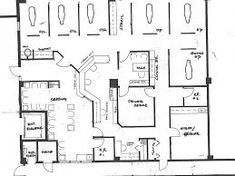 Image result for blueprint of an office image