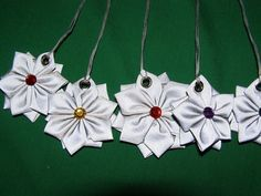 Hobbies And Crafts, Crafts To Sell, Diy And Crafts, Flower Crafts, Make And Sell, Fabric Flowers, Handicraft, Sewing Crafts, Projects To Try