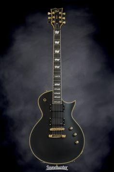 ESP LTD EC-1000 EMG - Vintage Black | Sweetwater.com