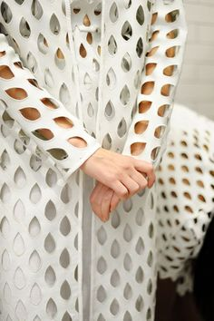 An exclusive backstage look at spring/summer 2015