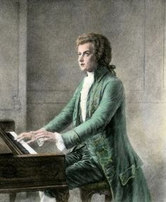 Wolfgang Amadeus Mozart at the Keyboard