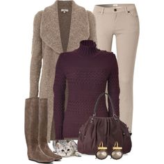 """""""Warm & Casual"""" by katc on Polyvore"""