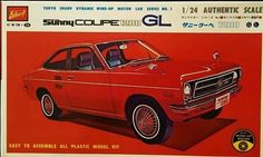 Extremely rare - Tokyo Sharp 1/24 Scale Sunny Coupe 1200 GL