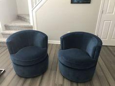 Otis Swivel Chair - - Modern Living Room Furniture - Room & Board