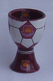 West Ham United F.C. Egg Cup by West Ham United. $14.98. Officially Licensed Product. West Ham United. West Ham United F.C. Egg Cup. Bowls / Egg Cups. WEST HAM UNITED F.C. Ceramic Egg Cup Official Licensed Product