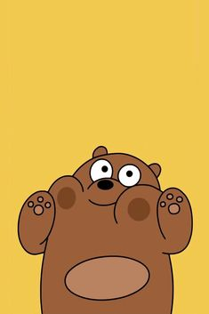 Grizzly pandas bare bears we wallpapers cute animated animals wallpaper Cute Disney Wallpaper, Kawaii Wallpaper, Cute Wallpaper Backgrounds, Wallpaper Iphone Cute, Tumblr Wallpaper, Animal Wallpaper, Aesthetic Iphone Wallpaper, Galaxy Wallpaper, Mobile Wallpaper