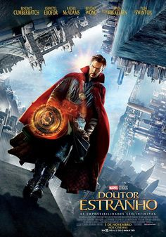 Marvel has released an extended look at their upcoming movie, Marvel's Doctor Strange, featuring stars Benedict Cumberbatch, Chiwetel Ejiofor and Tilda Swinton Marvel Doctor Strange, Doctor Strange Poster, Dr Strange Movie, Films Marvel, Marvel Cinematic, Tilda Swinton, Marvel Universe, Hero Squad, Funny Movies
