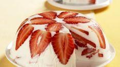 Jogurtova torta s jahodami a medom