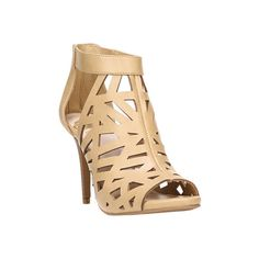 Women's Fergalicious Huddle Caged Sandal ($55) ❤ liked on Polyvore featuring shoes, sandals, cage shoes, casual, none, nude sandals, nude high heel sandals, fergalicious shoes, nude high heel shoes and leather strap sandals