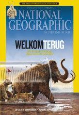 National geographic. Plaats: tijdschriftenrek.
