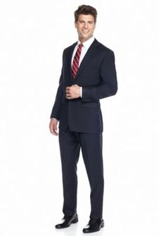 Austin Reed Navy Navy Solid Suit