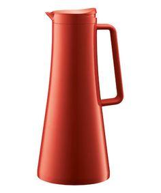 Look at this #zulilyfind! Red 37-Oz. Thermos Jug by BODUM #zulilyfinds