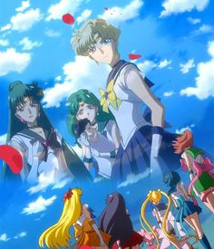 Sailor Moon Crystal, Sailor Moon Fan Art, Sailor Moon Manga, Sailor Uranus, Sailor Neptune, Sailor Mars, Disney Marvel, Haruka And Michiru, Thor