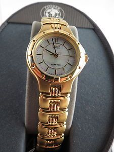 Citizen Eco-Drive Watch W/ Mother of Pearl Dial Watch