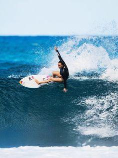 Surf girl... Carissa Moore...
