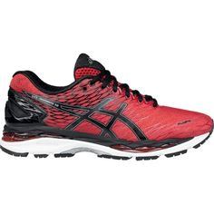 sale retailer 2d41c 31676 Asics Men s GEL-Nimbus 18 Running Shoes, Size  8.5, Racing Red