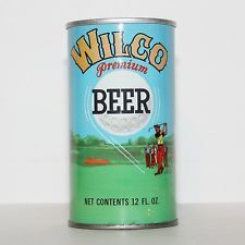 Wilco Beer Pull Tab - Golfing Can