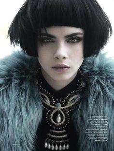 Cara Delevingne - Greg Lotus - Vogue Russia