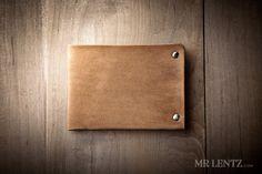 Thin Leather Wallet Mens Leather Wallet Minimal Wallet door MrLentz