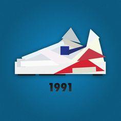 Minimalist Nike Sneaker Illustrations by Jack Stocker (2)