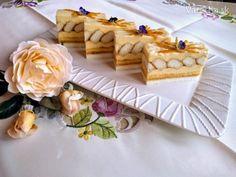 Pudingové rezy (fotorecept) - Recept Izu, Camembert Cheese, Waffles, Treats, Baking, Breakfast, Sweet, Food, Anna