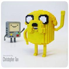 nanoblock Jake from Adventure Time
