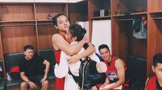 Dj hug with love to him tangi Back Hug, Star Magic, Daniel Padilla, Kathryn Bernardo, Filipina, Pinoy, All Star, Fangirl, Dj