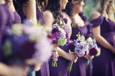 Handmade Violet Wedding