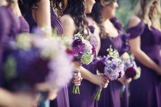 Handmade Violet Wedding