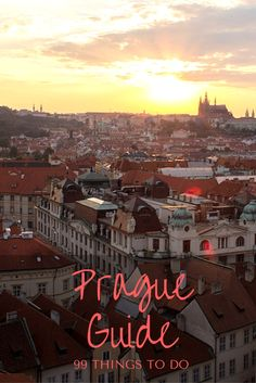 What are the best things to do in Prague? From the must-see tourist attractions, to quirky hidden treasures - there's a little something for everyone! Canadian Travel, European Travel, Travel Around The World, Around The Worlds, Prague Travel Guide, Stuff To Do, Things To Do, Travel Guides, Travel Tips