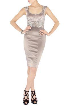 Karen Millen Silk Embroidered Pencil Dress,Karen Millen Outlet