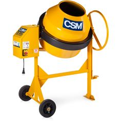 Betoneira CSM 120 Litros Motor 0.33 HP