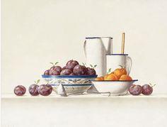 Olieverf schilderij stilleven