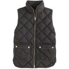 Vests can be worn alone or inside a jacket on colder days