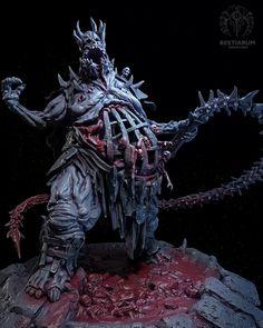 Monster Design, Monster Art, Creature Concept Art, Creature Design, Arte Horror, Horror Art, O Hobbit, D&d Dungeons And Dragons, Dungeons And Dragons Miniatures