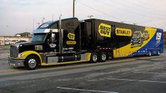 Best Buy, Freightliner Coronado, NASCAR, Transporter, Hauler