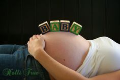 Maternity photo idea