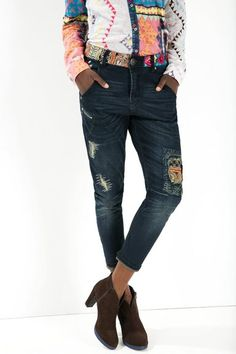 See all Desigual Jeans Broke Deluxe