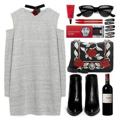"""""""Untitled #95"""" by roxeyturner ❤ liked on Polyvore featuring Zara, Alexander Wang, Miu Miu, Fornasetti, Clips and Maybelline"""