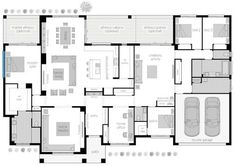 Floor Plan Friday: Acreage style with 4 bedrooms, activity and study